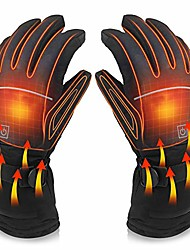 cheap -electric heated gloves with touch screen,outdoor indoor battery powered heating winter windproof gloves for men and women outdoor warm motorcycle riding hunting ski cycling (xl)