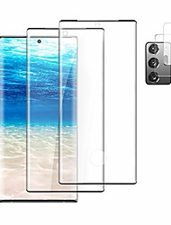 """cheap -[2+2] galaxy note 20 ultra screen protector tempered glass + camera lens protective film [support fingerprint unlock] [9h hardness] [anti-fingerprint] [hd clarity] for galaxy note 20 ultra 5g (6.9"""")"""