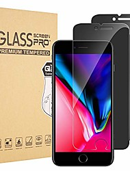 cheap -iphone 7 plus and iphone 8 plus privacy screen protector for, innovative anti-spy 2.5d touch full cover 9h tempered glass [bubble free/install easy] 5.5 inch, 2-pack