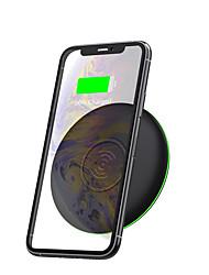 cheap -WIWU Qi-Certified Wireless Charger Glass Panel Fast Charging For Samsung iPhone Xiaomi Huawei