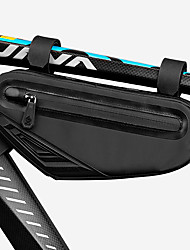 cheap -CoolChange Bike Frame Bag Top Tube Adjustable Waterproof Waterproof Zipper Bike Bag Oxford Cloth EVA Bicycle Bag Cycle Bag Outdoor Exercise School