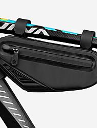 cheap -CoolChange Bike Frame Bag Top Tube Adjustable Waterproof Waterproof Zipper Bike Bag Oxford Cloth EVA Bicycle Bag Cycle Bag Outdoor Exercise School