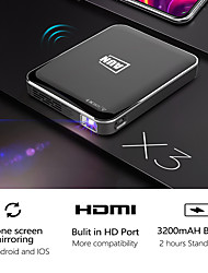 cheap -X3 Mini Projector Portable 1080p Cinema 3d Video Projector HDMI Led Laser Android/ios Mirroring Mobile Screen