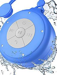 cheap -Shower Speaker Mini Wireless Waterproof Bluetooth Speaker 3w Driver Suction Cup Portable Speakerphone Built-in Mic