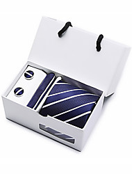 cheap -Men's Basic Necktie - Striped