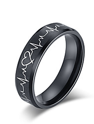 cheap -heartbeat rings for couples i love you more i love you most matching promise rings wedding bands sets for him and her with box titanium stainless steel comfort fit