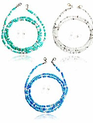 cheap -face mask holder beaded necklace - colorful beads chain strap, beaded mask lanyard, fashion accessories for women, girls (3pc bead mask chain c)