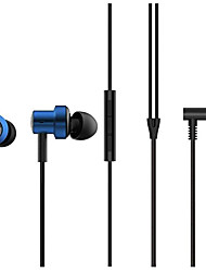 cheap -Original Xiaomi Dual Driver Headphone 3.5mm Earphone Hifi Deep Bass Wired Control Magnetic Earbud Headphone With Microphone-blue