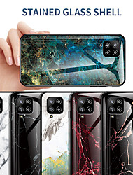 cheap -Case For Samsung Galaxy Galaxy S20 FE 5G / Galaxy A51 / Galaxy A2 Core Shockproof Back Cover Marble PC