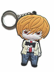 """cheap -death note keychains,pvc keychains for boys.3.1"""". (2)"""