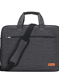 cheap -Unisex Waterproof Nylon Laptop Bag Zipper Solid Color Daily Office & Career Dark Grey Black Purple Pink