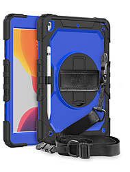 cheap -Case For Samsung Galaxy Samsung Galaxy Tab S7 T870/875 / Samsung Galaxy Tab A7 2020 T500/505 Shockproof Full Body Cases Solid Colored Silicone / PC