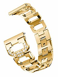 cheap -bling bands compatible samsung galaxy watch 42mm/galaxy watch active 2 40mm&44mm bands for women 20mm bracelet alloy crystal rhinestone diamond(20mm, gold)
