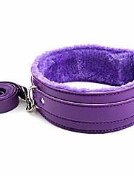 cheap -leather choker necklace punk leash neck choker adjustable gothic metal o-ring collar with chain detachable cosplay party jewelry for girls women