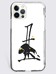 cheap -Graphic Prints Cattle Case For Apple iPhone 12 iPhone 11 iPhone 12 Pro Max Unique Design Protective Case Shockproof Back Cover TPU