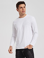 cheap -denali performance men's mega solar protectuv long sleeve, white, small