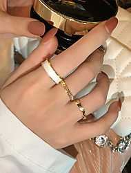 cheap -Ring Vintage Style Gold Alloy Infinity Personalized Simple Fashion 1 set Adjustable Index Finger / Women's / Open Cuff Ring / Adjustable Ring