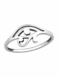 cheap -eye of horus plain rings 925 sterling silver