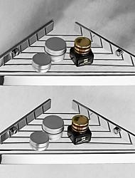 cheap -Bathroom Shelf All-copper Solid Corner Shelf Bathroom Shelf Single-Layer 1pc - Bathroom Wall Mounted Triangle Basket