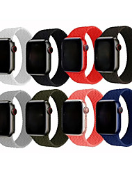cheap -Smart Watch Band for Apple iWatch 1 pcs Sport Band Silicone Replacement  Wrist Strap for Apple Watch  6 / SE / 5/4/3/2/1