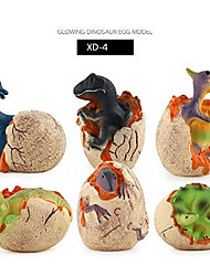 cheap -tyrannosaurus egg dinosaur toy, dinosaur eggs that hatch with realistic dinosaur action figure ,sound and led lights effect ,boy girl novelty educational toy easter party favors gift (6 pcs)