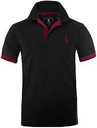 cheap -mens polo shirts mt1030 golf tennis shirt giraffe dark blue m