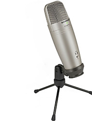 cheap -Samson C01U Pro Studio Condenser Microphone with USB for Real-time Control Broadcasting Large Diaphragm Condenser Microphone