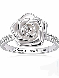 cheap -rose flower urn ring for ashes 925 sterling silver always with me cremation finger ring jewelry for women (6)
