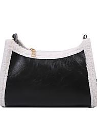 cheap -Women's Bags Crossbody Bag Date Office & Career 2021 MessengerBag Dark Brown Black Brown