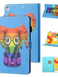 cheap -Phone Case For Apple Full Body Case iPad mini 1/2/3  7.9'' iPad mini 4 7.9'' iPad mini 5 7.9'' Shockproof Cartoon Animal TPU