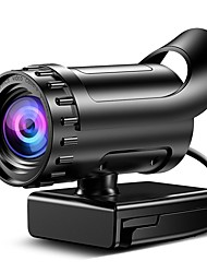 cheap -Webcam HD Desktop Laptop PC Web Camera 4k with Microphone USB Plug and Play Teaching Live Conference Computer Cameras HD 4k