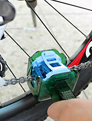 cheap -Bike Chain Cleaner Brush / Gear Grunge brush Scrubber Tool Repair Kit Wearable Travel For Road Bike Mountain Bike MTB Folding Bike Recreational Cycling Fixed Gear Bike Cycling Bicycle Plastic Green