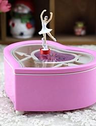 cheap -Music Box Light Up Toy Ballerina Music Box Musical Jewellery Box Music Box Dancer Classic & Timeless Love Ballet Dancer Cute Lighting LED Unique Plastic Women's Girls' Kid's Adults Graduation Gifts