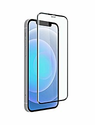 cheap -lucid iphone 12 tempered screen protector 3d (2 packs) (iphone 12 /pro 6.1)