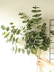 cheap -1 Piece Artificial Plants Leaves Home Decor Simulation Eucalyptus Leaves Wedding Party Display