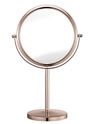 cheap -8 Inch Two-Sided Fashion Makeup Mirror with 5x Magnification Vanity Mirror Tabletop Mirror