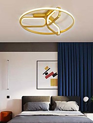 cheap -4-Light Led Simple Modern Bedroom Lamp Circular Ceiling Lamp Living Room Lamp Study Conference Room Dining Room Lamp 892-L