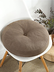 cheap -Solid Color Four Seasons Thick Chair Cushion Cotton Linen Crafts Tatami Cushion Student Dormitory Office Breathable Seat Cushion New Product