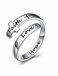 cheap -faith hope love ring for women teens 925 sterling silver faith ring wrap rings for women inspirational jewelry gifts (1-cross adjustable ring 7)