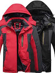 cheap -Mens Plus Size Winter Mountain Waterproof Jacket Snowboard Jackets Snowboarding Jacket Windproof Fleece Ski Jacket Coats