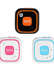 cheap -Mini GPS Tracker Children Personal Tracker Two-way Call SOS Fall Alert Waterproof Child GPS Tracker Kids Voice Monitor Geo-fence
