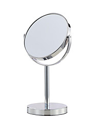 cheap -6 Inch Two-Sided Makeup Mirror with 5X Magnification Vanity Mirror Tabletop Mirror