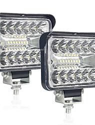 cheap -1pcs 12V 54W Wrok Light led bar LED lightbar 3030 LED 20SMD for Truck Tractor SUV 4x4 Car Led Headlights Lighting Spot work bar