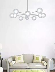cheap -10-Light 94 cm Mini Style Chandelier Metal Glass Sputnik Painted Finishes Contemporary / Chic & Modern 110-120V / 220-240V