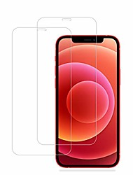 cheap -eeshell compatible with iphone 12 mini screen protector, [2 pack] premium hd clear tempered glass, case friendly, 9h hardness, anti-bubble 3d touch accuracy film for iphone 12 mini