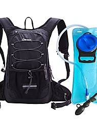 cheap -hydration backpack with 2l bpa free water bladder, water backpack for hiking, cycling, camping, biking or running - keep liquid cool up to 4 hours(black)