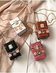 cheap -Women's Bags Crossbody Bag Date Going out 2021 MessengerBag White Black Blushing Pink Brown
