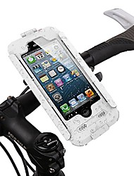 "cheap -bike mount waterproof case, bike moto mount handlebar phone holder, motor bike mount waterproof case for iphone 6/6s (4.7"") (white, iphone 6 / 6s)"
