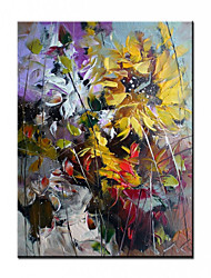 cheap -100% Hand-Painted Contemporary Art Oil Painting On Canvas Modern Paintings Home Interior Decor Abstract Flower Art Painting Large Canvas Art(Rolled Canvas without Frame)