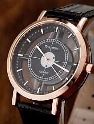 cheap -Women's Quartz Watches Quartz Stylish Fashion Casual Watch Analog White / Black White Black / One Year / PU Leather